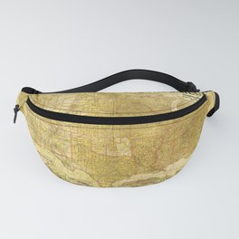 The United States including all its newly acquired territory (1901) Fanny Pack