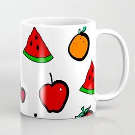 Fresh  Fruit Pattern Coffee Mug