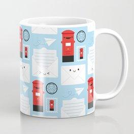 Happy Mail - Kawaii Post Coffee Mug
