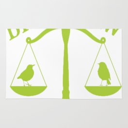 Bird Law Philadelphia (ALWAYS SUNNY) Rug