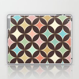 Pastel Patterned French Diamonds Pattern Laptop & iPad Skin
