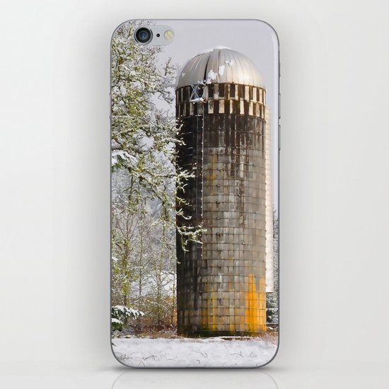 Remnants of a Simpler Time - The Silo iPhone & iPod Skin