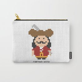 Captain Hook Pixel Character Carry-All Pouch