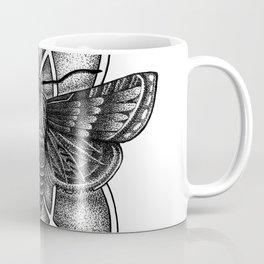 Moth Mandala Coffee Mug