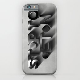 Stop to get on - 3D iPhone Case