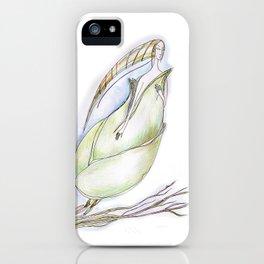 Elf-spring-love-green iPhone Case