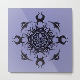 Maleficent Mandala Metal Print
