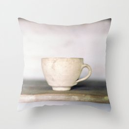 cup of kindness Throw Pillow
