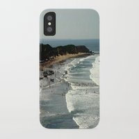 rowing iPhone & iPod Cases featuring Torquay Heads - Rowing Regatta - Australia by Chris' Landscape Images & Designs