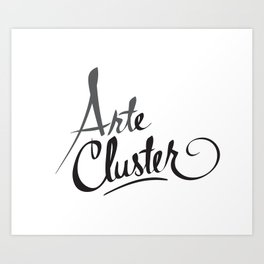 Arte Cluster Art Print