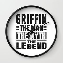 Griffin The Legend Wall Clock