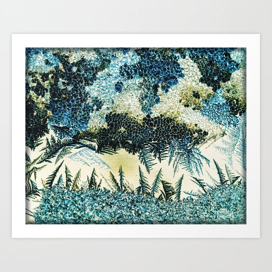 stormy skies Art Print