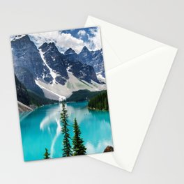 Lake Moraine Banff Stationery Cards