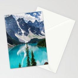 Lake Moraine Banff Stationery Cards
