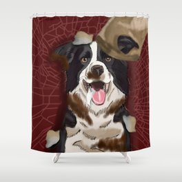 Dog Gone Dirty Shower Curtain