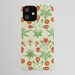 Daisy by William Morris 1862 Antique Vintage Pattern CC0 Spring Summer iPhone Case