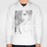 emma stone Hoodies featuring Emma by S'ANNie