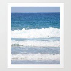 Rolling Waves 1 Vertical Art Print