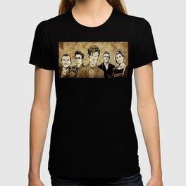 Doctor Who - Nine, Ten, Eleven, Twelve, and Thirteen T-shirt