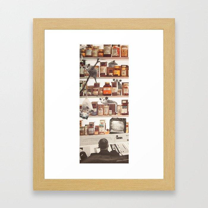 Mission O Possible Framed Art Print