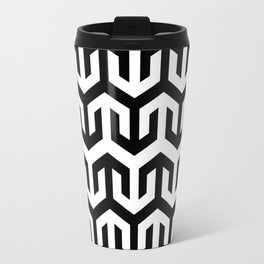 The simplicity of geometrics Travel Mug