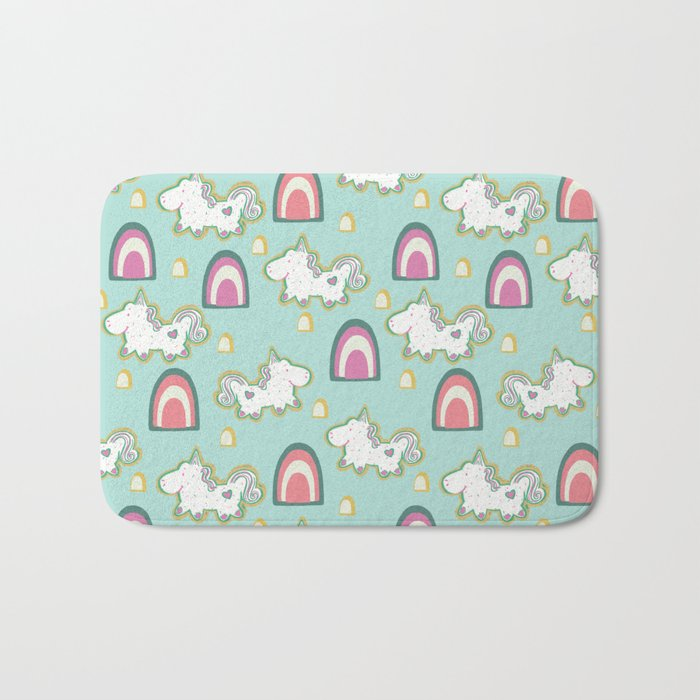 Cereal for Dinner - Unicorns Bath Mat