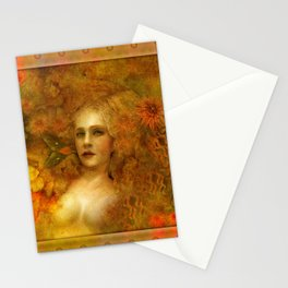 """""""Ofelita de Oro"""" (From """"Death, Life, Hope"""") Stationery Cards"""
