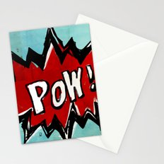 Comic Book: Pow! Stationery Cards