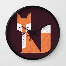 Le Sly Fox Wall Clock