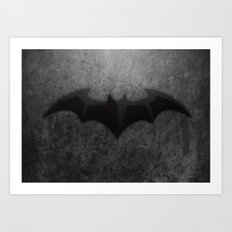 Its too Dark Art Print