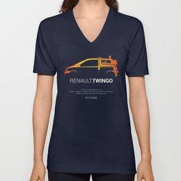Retour vers le futur - Twingo Unisex V-Neck
