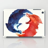 drink iPad Cases featuring Ying yang by Robert Farkas