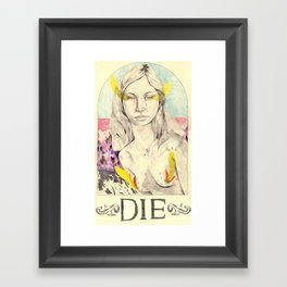 DIE Framed Art Print
