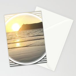 Port Erin - circle/line Stationery Cards