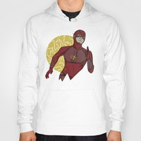 the flash Hoodies featuring Flash by Charleighkat