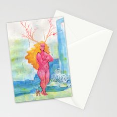 On the Nature of Spirits: Flora Stationery Cards
