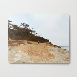 On the Cliffs Metal Print