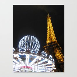 The More the Merrier - Night Canvas Print