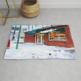 Winter in Gatineau, Quebec Rug