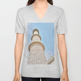 Taj Mahal India Unisex V-Neck