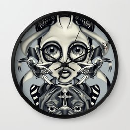 """Tattoeums III"" Wall Clock"