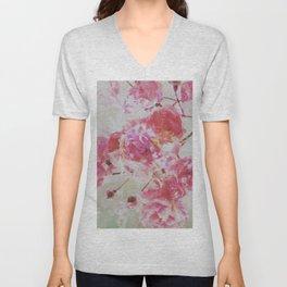 Rose Unisex V-Neck