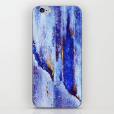 Let Go / Blue iPhone & iPod Skin