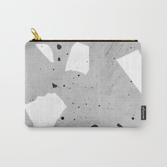 painted terrazzo 3 Carry-All Pouch