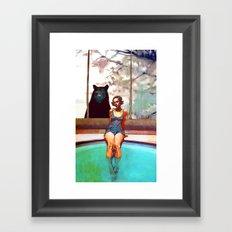 Spa Retreat Framed Art Print