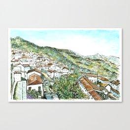 Zahara de la Sierra, Spain Canvas Print
