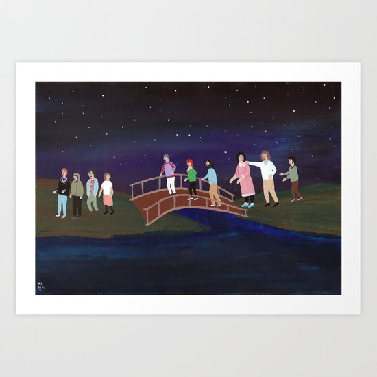 The Pastel-Sect Art Print