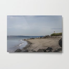 Point Wilson Lighthouse, Fort Worden State Park,  WA Metal Print