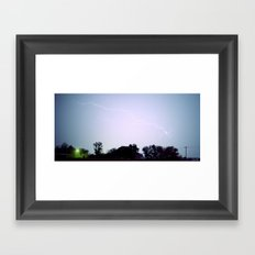 Stormy Night Framed Art Print
