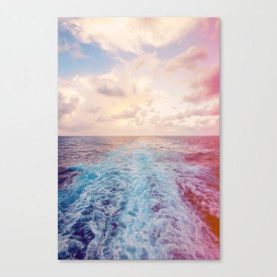 Sea Tracks Canvas Print